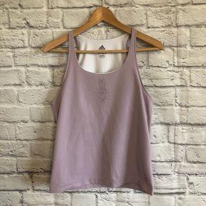Adidas Activewear Lilac Tank Top